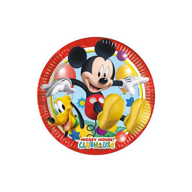 Piatto 20 cm Mickey Playful