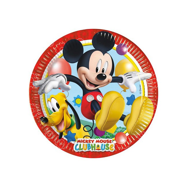 Piatto 23 cm Mickey Playful