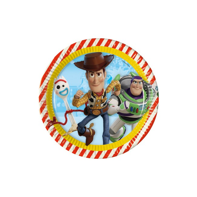 Piatto 23 cm Toy Story 4