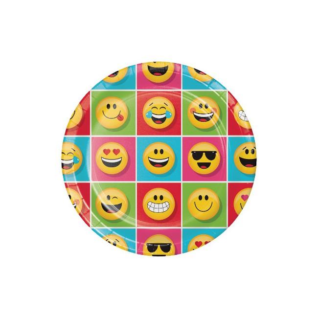 Piatto 23 cm Emoji