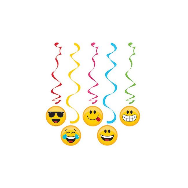 Set 5 pendenti 91 cm Emoji