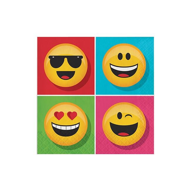 Tovagliolo 33 x 33 cm Emoji