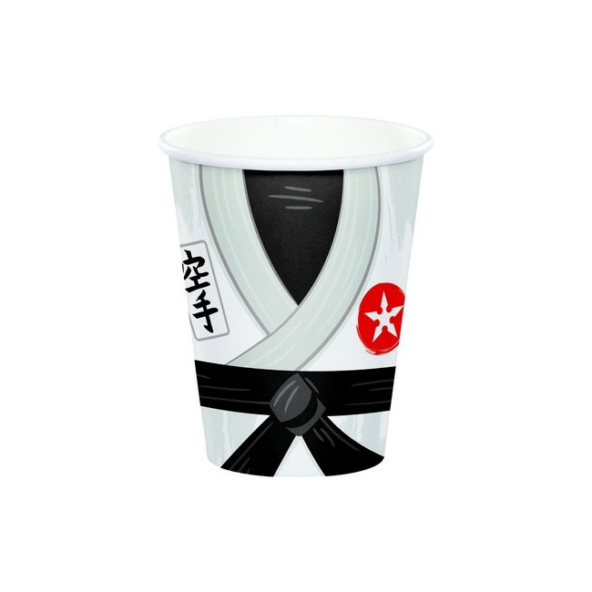 Bicchiere carta 266 ml Karate