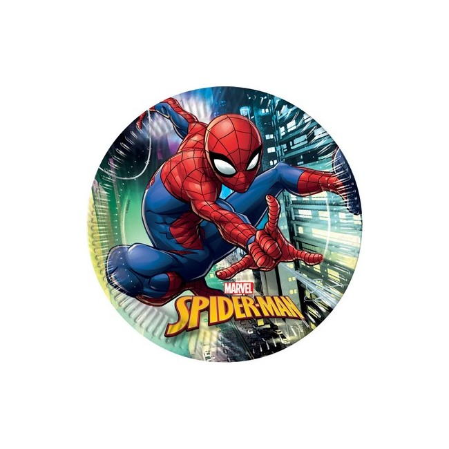 Piatto 23 cm SPIDERMAN TEAM UP