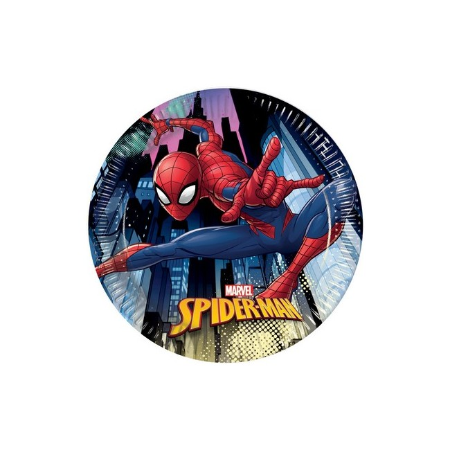 Piatto 20 cm SPIDERMAN TEAM UP
