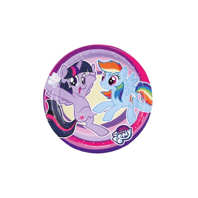 Piatto 18 cm My Little Pony