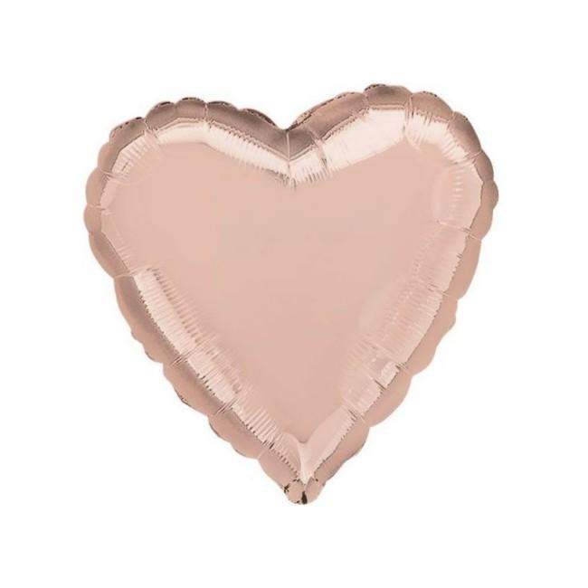 Rose Gold - Pallone foil...