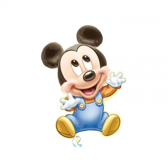 Baby Mickey - Pallone foil...