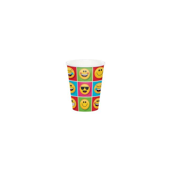 Bicchiere 266 ml Emoji