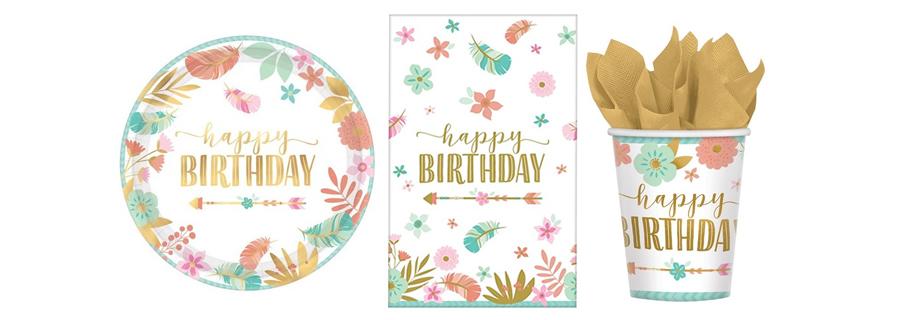 Boho Birthday Girl